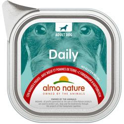 """Almo Nature Консервы для собак """"Меню с говядиной и картофелем"""", Daily Menu - Beef and Potatoes"""