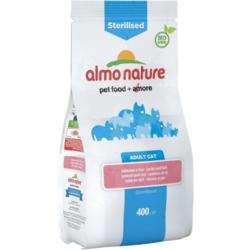 Almo Nature Сухой корм для кастрированных кошек с лососем и рисом. Functional Adult Sterilised Salmon and Rice