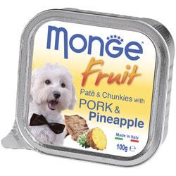 Консервы Monge Fruit Dog для собак свинина с ананасом