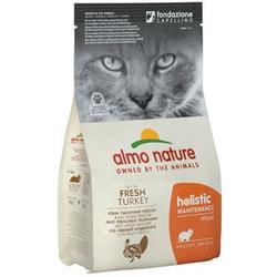 Almo Nature Сухой корм Для Взрослых кошек с Индейкой