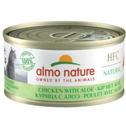 """Almo Nature Низкокалорийные консервы для Кошек """"Курица с алоэ"""". HFC Adult Cat Chicken with aloe Light"""