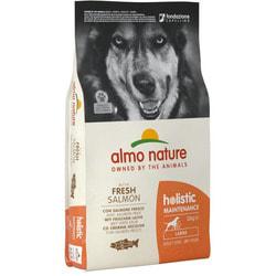 Almo Nature Сухой корм Для Взрослых собак Крупных пород с Лососем
