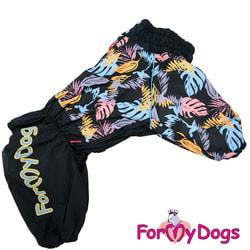 ForMyDogs Комбинезон для больших собак Монстера на флисе, мальчик