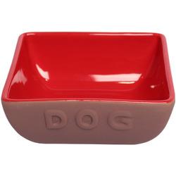 Lion Керамическая миска для собак DOG