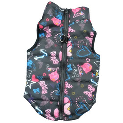 Smartpet Куртка для маленьких собак утепленная Funny