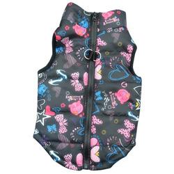 4 My Pets Куртка для маленьких собак утепленная Funny
