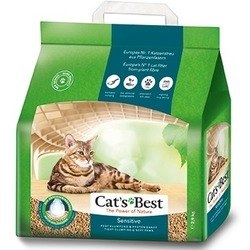 Cat`s Best Sensitive Наполнитель древесный впитывающий