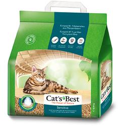 Cat`s Best Green Power Наполнитель древесный впитывающий