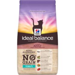 Сухой корм HILL'S Ideal Balance No Grain для взрослых кошек, с тунцом и картофелем