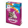 Whiskas Сухой корм для кошек подушечки с нежным паштетом Лосось