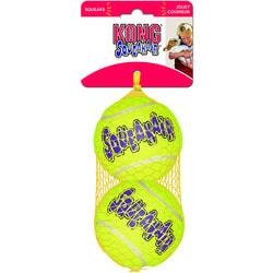 Kong Игрушка для собак Air Теннисный мяч большой (в упаковке 2 шт.)