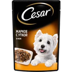 Cesar Консервы для собак Цыпленок запеченый с курагой