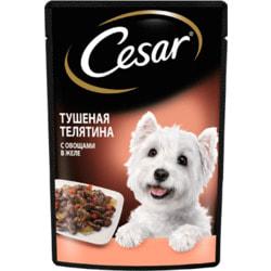 Cesar Паучи для собак Тушеная Телятина с овощами