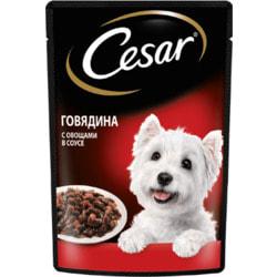 Cesar Пауч для собак Говядина с овощами