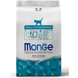 Monge Cat Сухой корм для котят и кормящих кошек с курицей