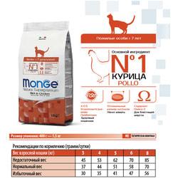 Monge Cat Сухой корм для пожилых кошек