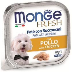 Monge Dog Fresh консервы для собак курица