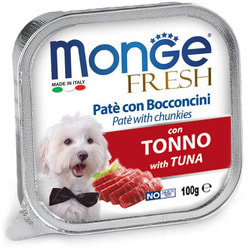 Monge Dog Fresh консервы для собак тунец