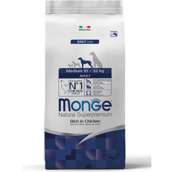 Monge Dog Medium Сухой корм для взрослых собак средних пород