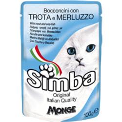 Simba Cat Pouch паучи для кошек форель с треской