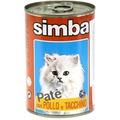 Simba Cat консервы для кошек паштет курица и индейкой