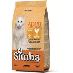 Simba Cat Сухой корм для кошек с курицей
