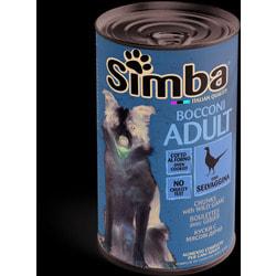 Simba Dog консервы для собак кусочки дичь