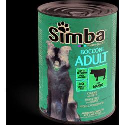 Simba Dog консервы для собак кусочки телятина