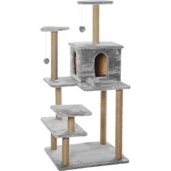 """Smartpet Игровой комплекс для нескольких кошек """"Семейный"""" серого цвета"""