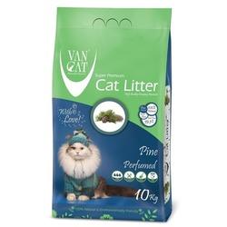 Van Cat Комкующийся наполнитель без пыли с ароматом Соснового леса