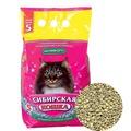 Сибирская кошка Комфорт Впитывающий наполнитель