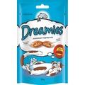 Dreamies Лакомые подушечки с Лососем