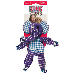 Kong Игрушка для собак Floppy Knots Слон Большой
