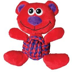 Kong Игрушка для собак Weave Knots Мишка
