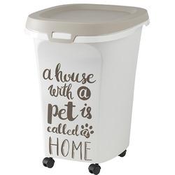 Moderna Контейнер для корма передвижной Pet Wisdom 46x37x51h см