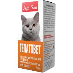 Api-San Гепатовет для лечения печени у Кошек (суспензия)