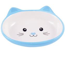 КерамикАрт Миска керамическая для кошек 160 мл Мордочка кошки