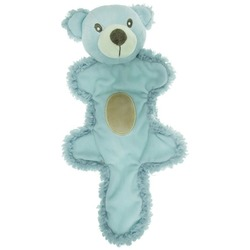 AROMADOG Игрушка для собак Мишка с хвостом голубой