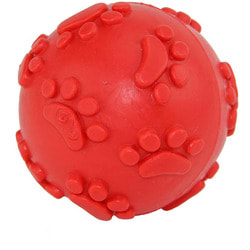 DOGMAN Мячик с лапкими пищащий