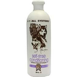 #1 All systems Self-rinse Conditioning shampoo - шампунь без смывания для животных
