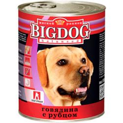 Зоогурман Консервы для крупных собак Big Dog говядина с рубцом