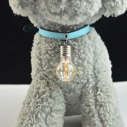 Антицарапки Маячок-блинкер Лампочка для собак на ошейник