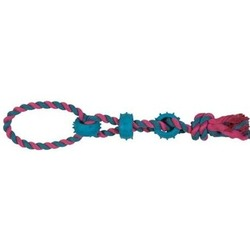 Chomper Игрушка для собак веревочная с вставками из термопластиковой резины