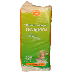 Чистый хвост Впитывающие пеленки для животных 33х45см