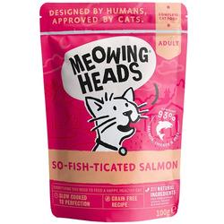 """Barking Heads Паучи для кошек и котят с лососем, курицей и говядиной """"Фиш-гурман"""""""