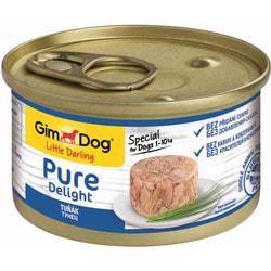 Консервы Gimpet Pure Delight для собак из тунца в желе