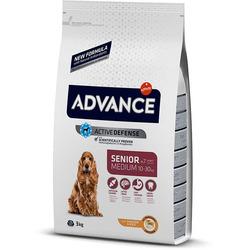 Сухой корм Advance Affinity Medium Senior для пожилых собак средних пород с курицей