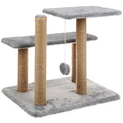 Smartpet Игровой комплекс для кошек из когтеточек, лежанок и игрушки Серый