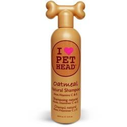 """Pet Head Oatmeal Шампунь """"100% натуральный"""" для собак с маслом овсянки, жожоба, без сульфатов и парабенов"""