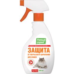 Умный спрей Защита от царапания и погрызов для кошек